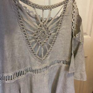 3497c35447592 Italian Handmade Linen Dress
